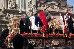 Holy week. In road seville stock photos