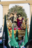 Holy Week in San Fernando, Cadiz, Spain. Prayer of Our Lord in the Garden. Stock Photo