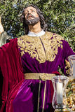 Holy Week in San Fernando, Cadiz, Spain. Prayer of Our Lord in the Garden. Royalty Free Stock Photo