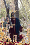 Holy Week in Seville, brotherhood of peace Royalty Free Stock Photos