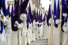 Holy week in Seville Royalty Free Stock Photos