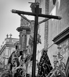 Holy week in Seville, Spain Stock Image