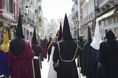 Holy Week in Spain. Royalty Free Stock Photo