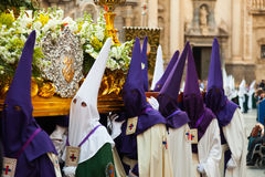 Holy Week in Spain Royalty Free Stock Photo