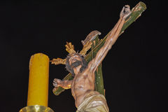 Holy Week in Spain, procession Stock Images