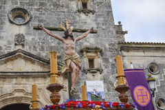 Holy Week in Spain, procession Stock Image