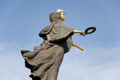 Holy Wisdom statue in Sofia Stock Photography