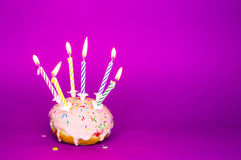 Holyday donut Royalty Free Stock Image