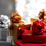 Holyday gifts Stock Images