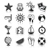 Holyday icons set Stock Photos