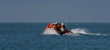 Lifeboats залива Treardur Inshore стоковые изображения rf