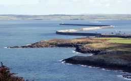 Holyhead Breakwater Stock Photography