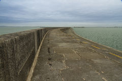 Holyhead Breakwater Royalty Free Stock Photos
