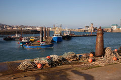 Holyhead harbour Royalty Free Stock Images
