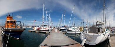Holyhead marina Royalty Free Stock Image