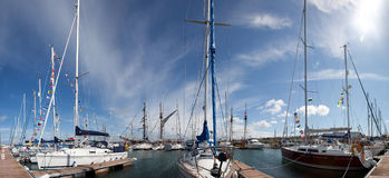 Holyhead marina Stock Photography