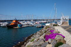 Holyhead Marina and harbour Stock Photography