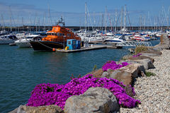 Holyhead Marina and harbour Royalty Free Stock Photos
