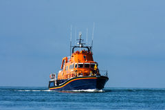 Holyhead Offshore Lifeboat. Holyhead Offshore and Treardur bay Inshore Lifeboats' Isle of Anglesey North Wales Stock Images