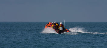 Treardur bay Inshore Lifeboats Royalty Free Stock Images