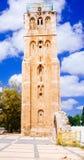 Holyland系列-拉姆拉的白色Tower#2 免版税库存图片