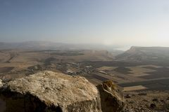 Holyland reeks-Galilee Royalty-vrije Stock Fotografie