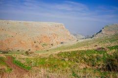 Holyland Reihe-Mt. Arbel-Nr. 3 lizenzfreies stockfoto