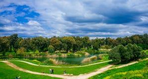 Holyland serie - Afek medborgare Park#2 Arkivfoto