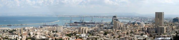 Holyland Serie-Haifa Schacht Stockfotografie