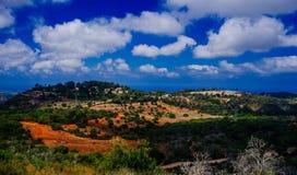 Holyland serie - Mt Carmel konia rancho Zdjęcia Stock