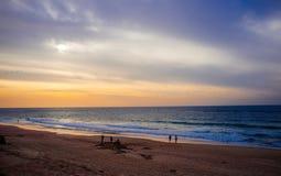 Holyland serie - Palmachim plaża Fotografia Royalty Free