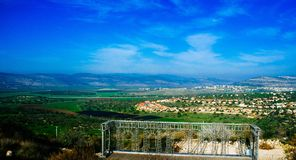 Holyland Series - Lower Galilee Panorama#2 Stock Photography