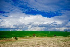 Holyland Series - Plain of Manasseh (Ramot Manasseh)#2 Stock Photo
