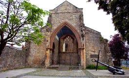 Holyrood教会商人水手纪念品,南安普敦,英国 图库摄影
