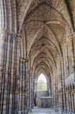 Holyrood Abbey in Edinburgh, Scotland Stock Images