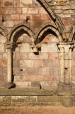 Holyrood Abbey With Gothic Arches Stock Photos