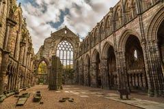 Holyrood abbotskloster Arkivfoto