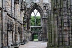 Holyrood Abtei Stockbilder