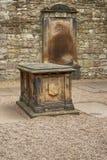 Holyrood-Abtei - Edinburgh Stockbild