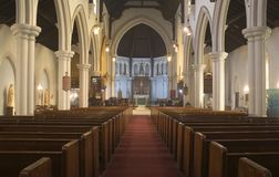 Holyrood Church Iglesia Santa Cruz Stock Photo