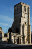 Holyrood Church, Southampton. The ruined Holyrood Church in Southampton City Centre, Hampshire.  Originally built in 1320, the church was  damaged by German Stock Image