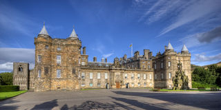 Holyrood house Royalty Free Stock Photography