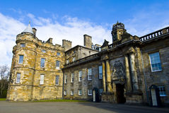Holyrood house Royalty Free Stock Photo