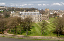 Holyrood House Stock Images