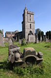 Holyrood Kirk and Valley Cemetery, Stirling Royalty Free Stock Photos
