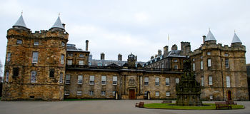 Holyrood pałac, Edynburg Fotografia Stock