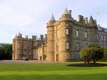 Holyrood Palace. The Palace of Holyroodhouse, the official residence of the monarch in Scotland Stock Photo
