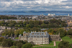 Holyrood Palace and Abbey Stock Images