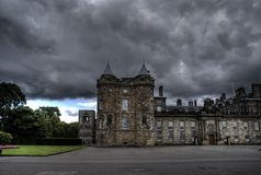 Holyrood palace in Edinburgh Royalty Free Stock Photos