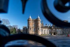 Holyrood Palace in Edinburgh royalty free stock photography